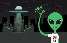 Alien with Currency Pass