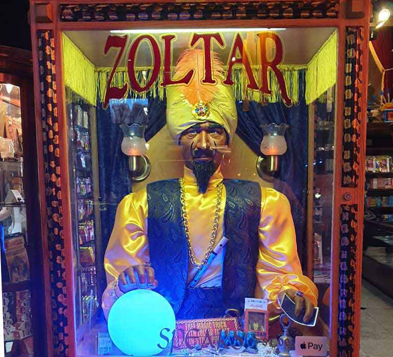 Zoltar fortune machine